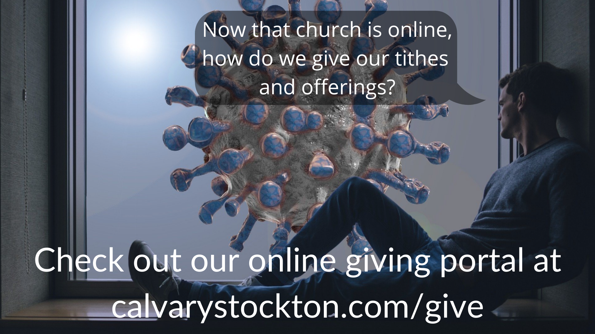 Now that church is online, how do our tithes and offering_